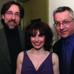 Catherine Wilson with Norman Hathaway and Philip Seguin Back stage - Post Performance