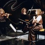 TRIO VIVANT in CONCERT From L. to R. - Marie Berard, violin; Catherine Wilson, piano/artistic director; Dorothy Lawson, cello