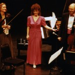 Ensemble Vivant in Concert Adele Armin, violin; Catherine Wilson, piano/artistic director; Jack Mendelsohn, cello
