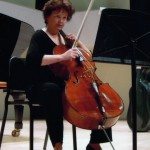 EV cellist Sharon Prater
