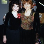 Catherine Wilson, pianist with Famous People Players Director Dianne Dupuy