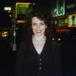 Catherine Wilson in Times Square