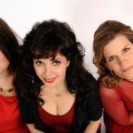 Ensemble Vivant, trio: Sybil Shanahan, Catherine Wilson and Erica Beston