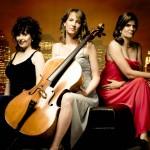 Ensemble Vivant - Catherine Wilson, piano/artistic director; Amy Laing, cello; Erica Beston, violin Photo by Robert Divito