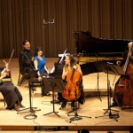 Erica Beston, violin; Catherine Wilson, piano; Sybil Shanahan, cello; Dave Young, bass