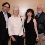 Oblivion Launch Party, June 2013 Violinist/violist,Norman Hathaway; Euterpe Advisor Patricia Harvey; Pianist Catherine Wilson; Euterpe Board Member George Garlock Photo by Jaclyn Appleby