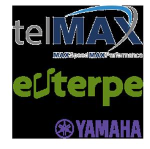 telMAX Euterpe Yamaha Logos