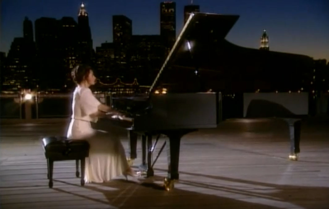 Pianist CATHERINE WILSON performs PRELUDE NUMBER THREE by G. GERSHWIN