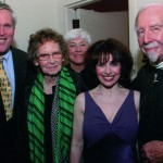 Post Performance back stage with Kurt Anderson, Mrs. Leroy Anderson, Ruth Henderson, and Maestro Skitch Henderson