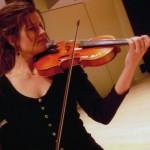 EV violinist Erica Beston