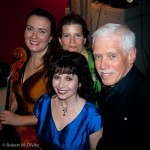 Sybil Shanahan, Erica Beston, Dave Young, Catherine Wilson (front/centre)