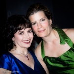 Catherine Wilson with Erica Beston at Glenn Gould Studio