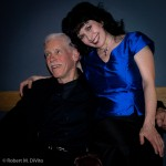 Catherine Wilson with Dave Young at Glenn Gould Studio