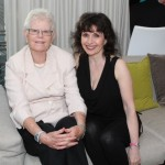 Oblivion launch party, June 2013 Pianist Catherine Wilson with Euterpe Advisor Patricia Harvie Photo by Jaclyn Appleby