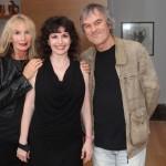 Pianist Catherine Wilson with musician, composer Jack Grunsky and singer Hertha Grunsky Photo by Jaclyn Appleby