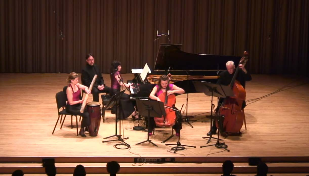 ENSEMBLE VIVANT Live-in-Concert: MILONGA for THREE by A. Piazzolla