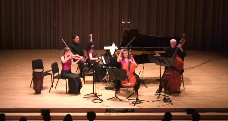 ENSEMBLE VIVANT Live-in-Concert: FUGA Y MISTERIO by A. Piazzolla