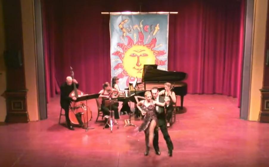 ENSEMBLE VIVANT LIVE with Dancers Roxana and Fabian @ SUNFEST