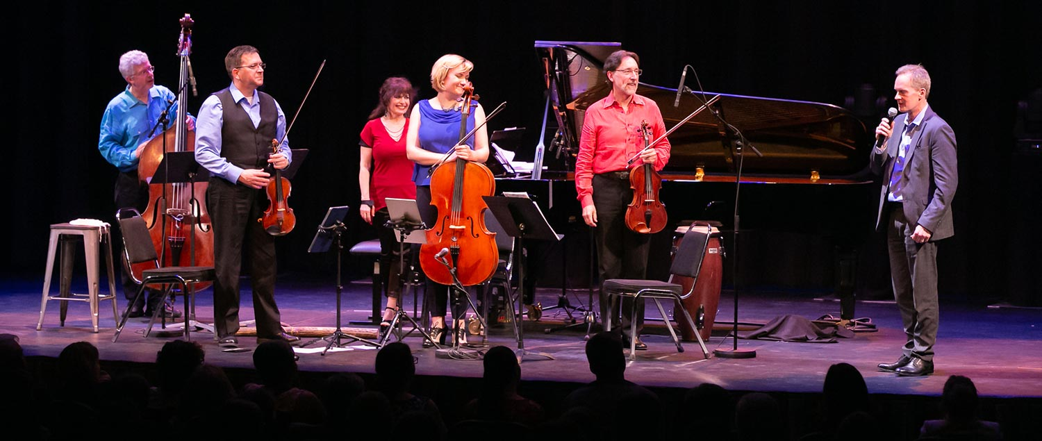 Ensemble Vivant at the Regent Theatre in Oshawa, Ontario