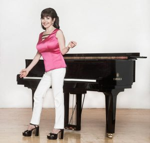 Catherine Wilson and grand piano