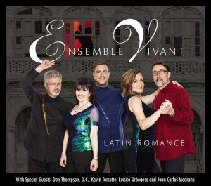 Ensemble Vivant Latin Romance CD Cover