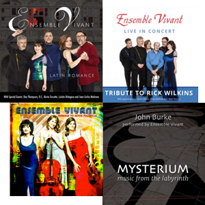 Ensemble Vivant CD Covers